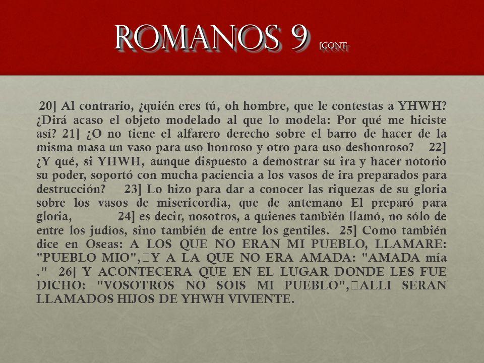 Romanos 9 [CONT